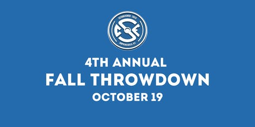4th Annual Fall Throwdown