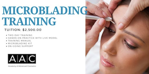 MICROBLADING CERTIFICATION TRAINING