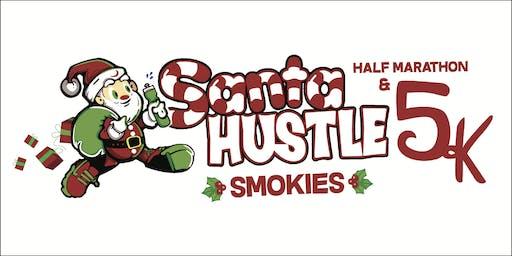 Santa Hustle Smokies Half Marathon & 5K Volunteer Sign-Up 2019