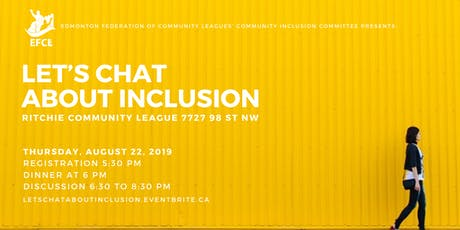 Let's chat about inclusion tickets