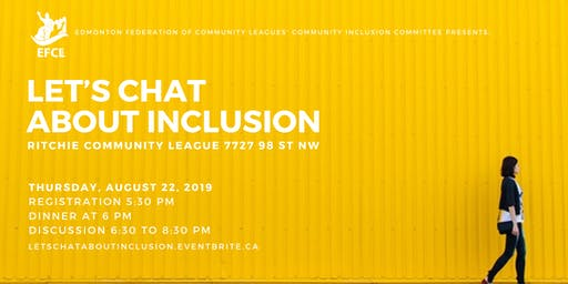 Let's chat about inclusion