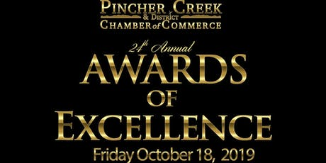 Pincher Creek Awards of Excellence 2019 tickets