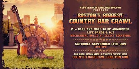 Boston's Biggest Country Bar Crawl tickets