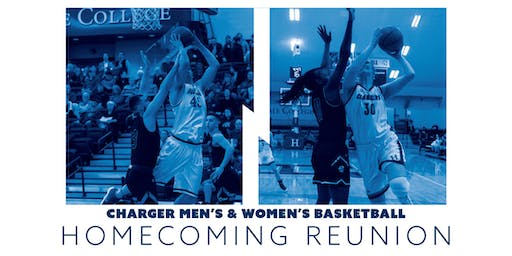 2019 Charger Women's and Men's Basketball Homecoming Reunion
