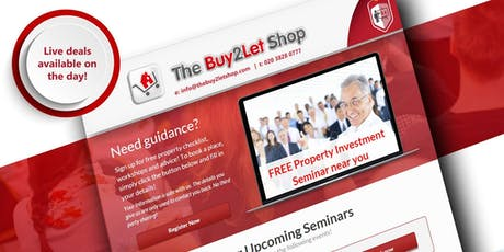 Property Investment Seminar - London - September 2019 tickets