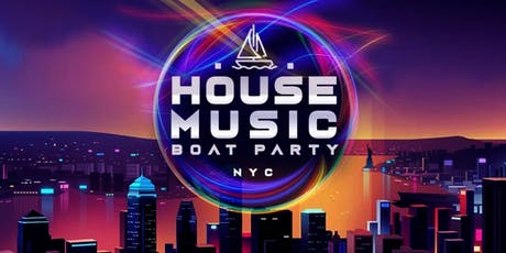 DANCE BOAT PARTY CRUISE AROUND NEW YORK CITY STATUE LIBERTY, COCKTAILS & MUSIC VIBES  tickets