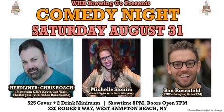 Comedy Night w/ Chris Roach from CBS's Kevin Can Wait @ WHB Brewing Co tickets