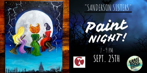 Sanderson Sisters | Paint Night at Red Lantern!