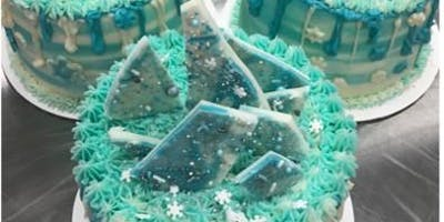 Cake Decorating: Winter Wonderland Drip Cake at Fran's Cake and Candy Supplies
