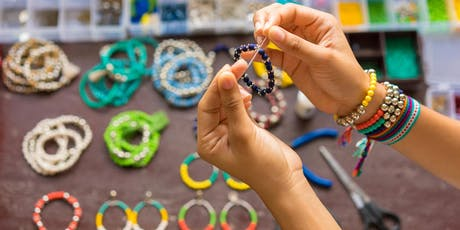 BEAD & SIP CHAKRA PENDANT AND BRACELET Jewelry Making Event tickets