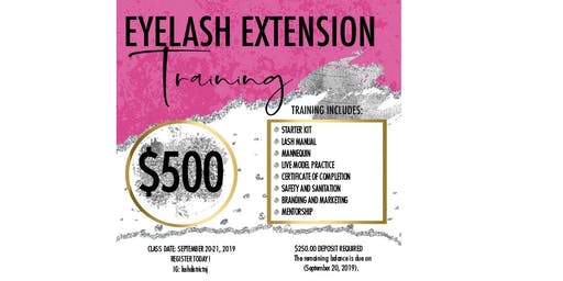 Classic Eyelash Extension Training | 2-Day Class