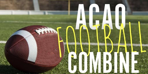 ACAO Football Combine 2019
