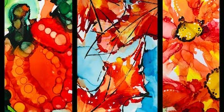 Painting Workshop: Fall Alcohol Inks  tickets
