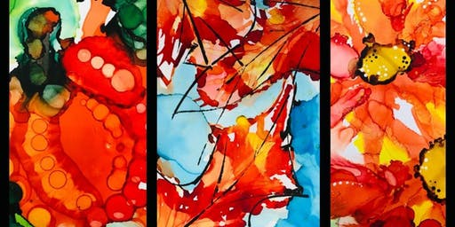 Painting Workshop: Fall Alcohol Inks