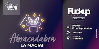 FuckUp Nights X Edición Abracadabra!