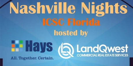 Nashville Nights at ICSC Florida Conference  tickets