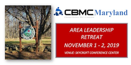 2019 CBMC Maryland Area Leadership Retreat tickets