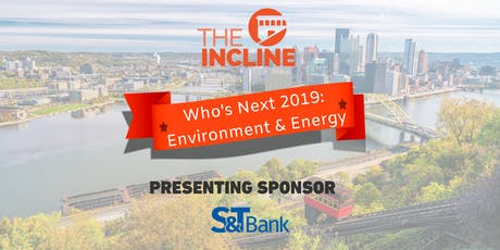 Who's Next 2019: Environment and Energy tickets