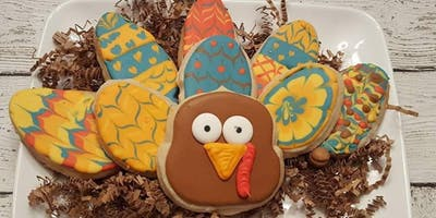 Family Build A Turkey Cookie Class