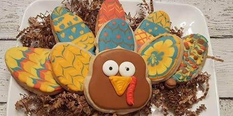 Family Build A Turkey Cookie Class  tickets