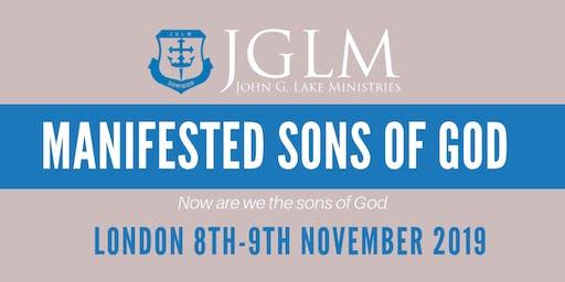 LONDON JGLM MANIFESTED SONS OF GOD SEMINAR