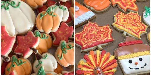 Cookie Decorating: Thanksgiving Sugar Cookies at Fran's Cake and Candy Supplies