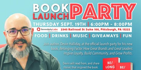 OFFICIAL Book Launch Party - Belonging Factor tickets