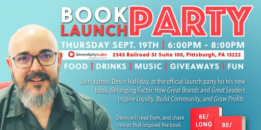 OFFICIAL Book Launch Party - Belonging Factor