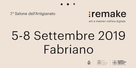 """Remake 2019: workshop """"Industria 4.0, entra nel futuro"""" biglietti"""