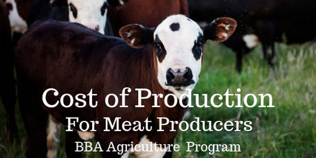 Cost of Production (Meat Producers) in Cranbrook tickets