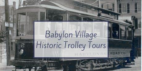 Babylon Village Trolley Tours tickets