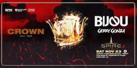 Bijou / Saturday November 23rd / Spire tickets