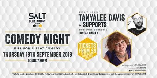 Kill For A Seat Comedy with Tanyalee Davis