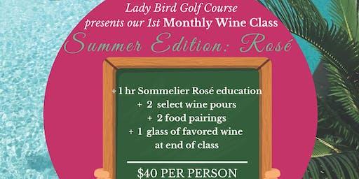 Sommelier Wine Education: Summer Rosé