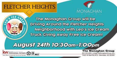 Ice Cream Giveaway- Fletcher Heights tickets