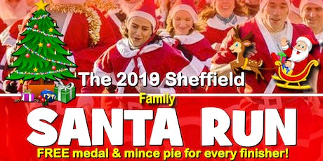 Sheffield 2019 Santa DoubleDash Fun Run/Walk tickets