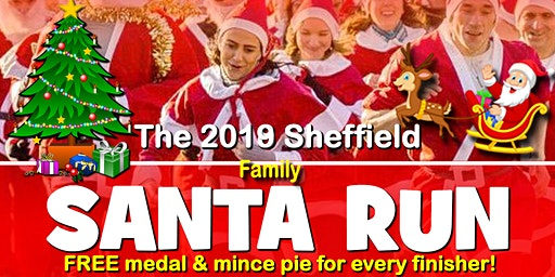 Sheffield 2019 Santa DoubleDash Fun Run/Walk