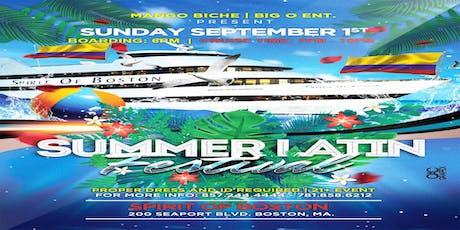 SUMMER LATIN FESTIVAL CRUISE PT2 tickets