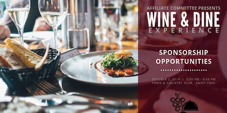 Wine & Dine Experience 2019 tickets