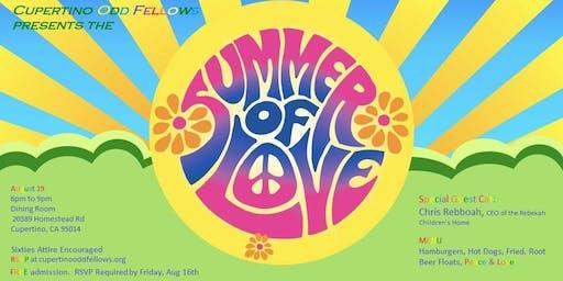 Cupertino Odd Fellows Summer of Love Social
