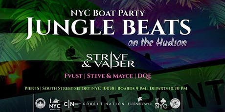 Jungle Beats Boat Party Yacht Cruise New York City - 90% SOLD OUT tickets