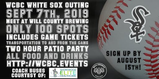 Will County Brewing White Sox Outing
