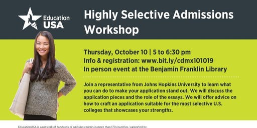 Highly Selective Admissions and Essay Workshop