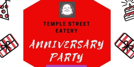 Temple Street Eatery 5th Anniversay Party tickets