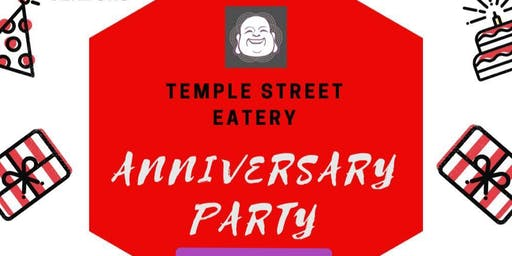 Temple Street Eatery 5th Anniversay Party