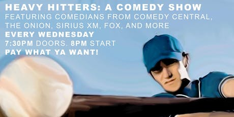 Heavy Hitters: A Comedy Show tickets