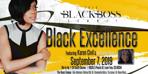 Black Boss Summit: Black Excellence