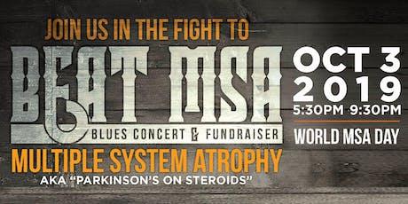 Beat MSA: Blues Concert & Fundraiser tickets