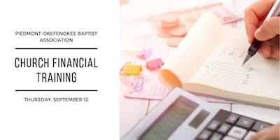 Church Financial Training