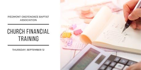 Church Financial Training tickets